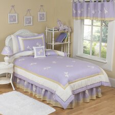 <strong>Sweet Jojo Designs</strong> Purple Dragonfly Dreams Kid Twin Bedding Collection