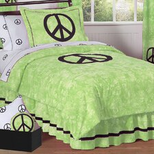 <strong>Sweet Jojo Designs</strong> Peace Kid Bedding Collection