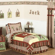 <strong>Sweet Jojo Designs</strong> Monkey Time Kids Bedding Collection