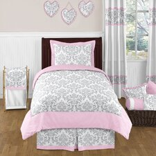 Pink and Gray Elizabeth Bedding Collection