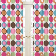 <strong>Sweet Jojo Designs</strong> Deco Dot Curtain Panel (Set of 2)
