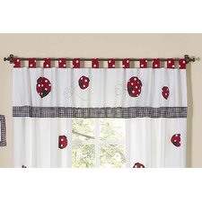 <strong>Sweet Jojo Designs</strong> Little Ladybug Cotton Curtain Valance