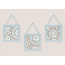 Hayden Wall Hanging Art (Set of 3)