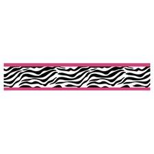 Zebra Wallpaper Border