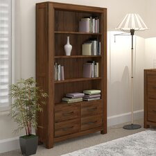 Mayan Walnut Large Bookcase