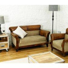 Roadie Chic Leather Sofa Set