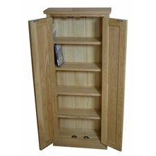 Mobel Oak DVD Storage Cabinet