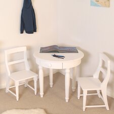 Nutkin Children's Play Table in White Ash