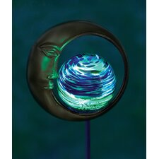 <strong>Echo Valley</strong> Moon Design Illuminaries Glow in The Dark Stake with Globe