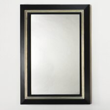 <strong>Artmax</strong> Mirror in Black and Old World Silver