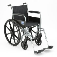 <strong>Medline</strong> Excel K1 Basic Standard Bariatric Wheelchair