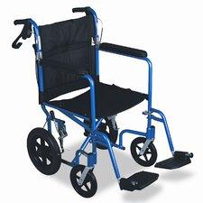 "Excel Deluxe Aluminum 19"" Bariatric Standard Wheelchair"