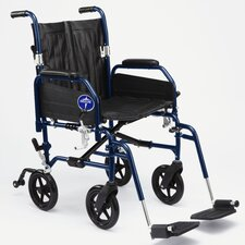 <strong>Medline</strong> Excel Hybrid 2 Transport Bariatric Wheelchair