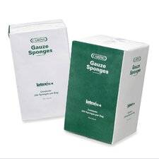 "<strong>Medline</strong> Gauze Sponges, Nonsterile, 4""x4"",16 Ply, 200/BX, White"