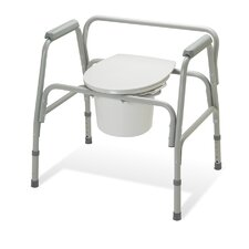 Extra Wide 3 in 1 Commode