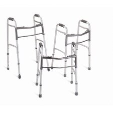 Junior Two-Button Folding Walker (Set of 4)
