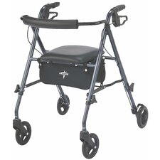 <strong>Medline</strong> Ultralight Rollator in Smoky Blue