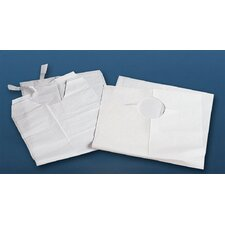 Disposable Bib with Crumb Catcher (Case of 500)
