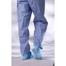 Non-Skid Spun Bond Poly Shoe Cover in Blue