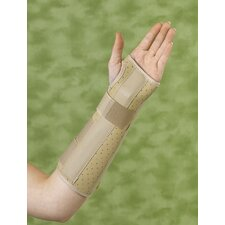 Left Vinyl Wrist and Forearm Splint