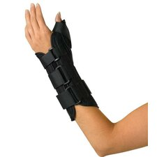 Left Wrist and Forearm Splint with Abducted Thumb