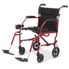 "Freedom 19"" Ultra Lightweight Transport Wheelchair"