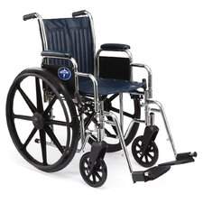 "Excel 2000 Narrow 16"" Standard Bariatric Wheelchair"