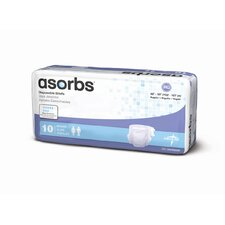 <strong>Medline</strong> Asorbs Ultra-Soft Plus Briefs (Pack of 80)