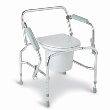 <strong>Medline</strong> Drop Arm Steel Commode