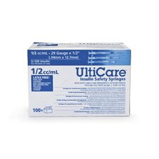 <strong>Medline</strong> UltiCare Insulin Safety Syringes (Set of 5)