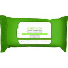 Aloetouch Personal Cleansing 12 Pack 48 Count Wipes