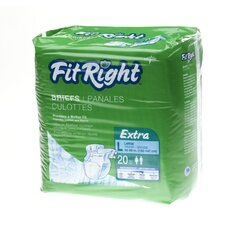 FitRight Extra Briefs (Pack of 20)