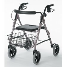 "<strong>Guardian</strong> Deluxe Rollator with 8"" Wheels"