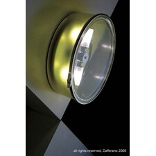 Box Halogen Wall or Ceiling Light - Circle