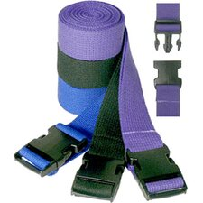 Pinch Buckle Cotton Yoga Strap