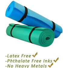 Pilates Aero Cushioned Yoga Exercise Mat