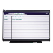 Horizontal Format Planning System Whiteboard