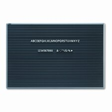 "<strong>Quartet®</strong> Magnetic Wall Mount Letter Board 24"" x 36"""