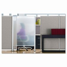 Premium Workstation Privacy Screen, 38w x 65h