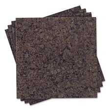 Cork Panel Bulletin Board, 4 Panels/Pack