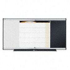3-In-1 2' x 3' Bulletin Board