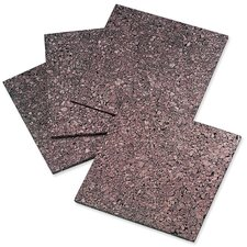 "Cork Panels, Self-stick, 12""x12"", 4 per Pack, Dark Natural"