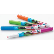 4 Count Assorted Colors Screamers Dry Erase Marker