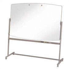 Total Erase Reversible Mobile Easels in Neutral/White
