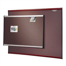 <strong>Quartet®</strong> Gray Diamond Mesh Bulletin Boards- Small