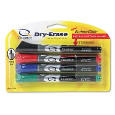 Dry-Erase Markers in Four Assorted Colors