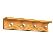 <strong>Quartet®</strong> Wood Coat Rack