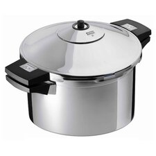 Duromatic Inox Pressure Cooker with Side Grips