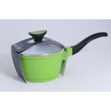 Die Cast Aluminium Sauce Pan in Green