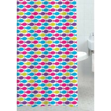 Ecole Polyester Shower Curtain